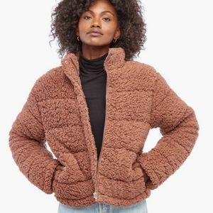 🖤NWT JustFab Cozy Cropped Puffer Jacket